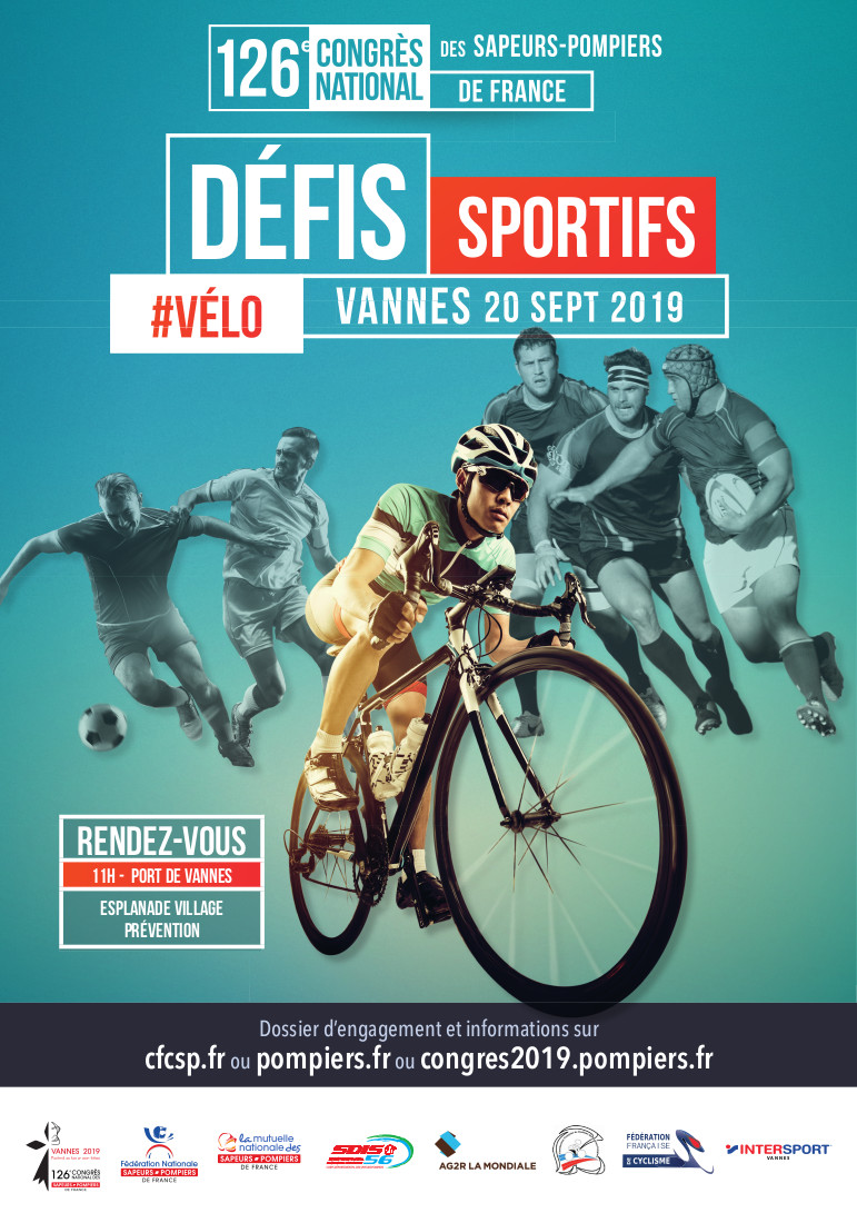 affiche A3 DEFIS SPORTIFS Velo V2